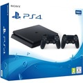 Sony PlayStation 4 PS4 slim Konsole 500GB, jet black inkl. 2. Controller