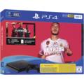 Sony PlayStation 4 PS4 slim Konsole 500GB, jet black inkl. FIFA20 Ultimate Team