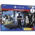 Sony PlayStation 4 slim, Hits Bundle (1TB, schwarz) inkl. Uncharted 4, The Last of Us, Horizon Zero Dawn