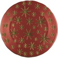 Spiegelau Platzteller STK/1 278/13/32cm Stars rot/gold Rot/Gold