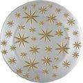 Spiegelau Platzteller STK/1 278/13/32cm Stars weiß/gold Weiß/Gold