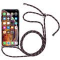 Stilgut Hybrid Necklace Case for iPhone X/Xs clear