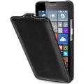 Stilgut UltraSlim Case für Microsoft Lumia 640 (in schwarz und weiß), schwarz