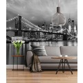 "Sunny Decor Fototapete ""Brooklyn Bridge B/W"" 368 x 254 cm"