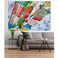 "Sunny Decor Fototapete ""Prayers Flags"" 184 x 127 cm"