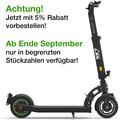 SXT-Scooters SXT Buddy V2 schwarz - eKFV Version - STVO zugelassen
