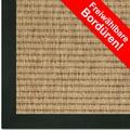 Astra Outdoor/Küchenteppich Sylt, Design 807 ocker, Farbe 060 Wunschmaß mit Polypropylen-Bordüre