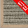 Astra Outdoor/Küchenteppich Sylt, Design 807 nerz, Farbe 065 Wunschmaß mit Polypropylen-Bordüre