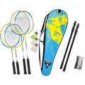 Talbot-Torro Badminton-Set Family 2 Junior + 2 Standardschläger,Thermobag