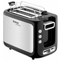 Tefal Express-Toaster TT3650, edelstahl-schwarz