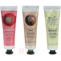 The Body Shop G2 Gtr Trio Hand Creams 3x30ml Hand Cream - Strawberry / Shea / Moringa hand cream 90 ml