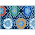 THEKO Happy Color 71 700 blau 133 cm x 190 cm