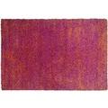 THEKO Teppich Color Shag 521 200 rot 57 x 90 cm