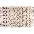 THEKO Berberteppich Beni Ourain Nomadic-Design 550 beige 70 x 140 cm