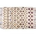 THEKO Handwebteppich Beni Ourain, Nomadic-Design, beige 140cm x 200cm