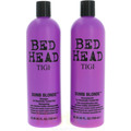 TIGI Bh Dumb Blonde Tween Set Shampoo 750ml/Conditioner 750ml Reconstruction For Chemically Treated Hair
