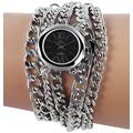 Timento Damenuhr mit Metallkettenarmband 510021500013