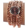 Timento Damenuhr mit Metallkettenarmband 510031500013