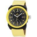 TimeTech Herrenuhr mit Lederimitationarmband 227474000010