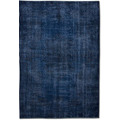 TINGO LIVING NUVOLA Teppich, 275x170 cm, dunkelblau/beige