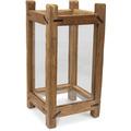 TINGO LIVING TURRIM, Laterne, 30x30/60 cm, Teak recycelt