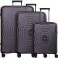 Titan Looping 4-Rollen Kofferset 3tlg. purple