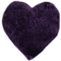 Tom Tailor Kinderteppich Soft Herz purple 100cm