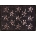Tom Tailor Teppich Happy, Stars, black 65cm x 135cm