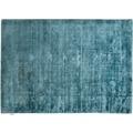 Tom Tailor Viskose-Teppich Shine, uni, blau 140cm x 200cm