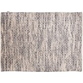 "Tom Tailor Handwebteppich Smooth Comfort ""Diamond"", grey 85cm x 155cm"