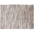 "Tom Tailor Handwebteppich Smooth Comfort ""Diamond"", grey 65cm x 135cm"