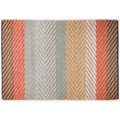 "Tom Tailor Handwebteppich Smooth Comfort ""Pastel Stripe"", multi 65cm x 135cm"