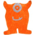 Tom Tailor Teppich Soft, Monster, orange 120cm x 100cm