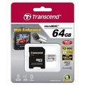 Transcend 64GB mircoSDHC, Class 10, Video Recording