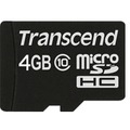 Transcend Ultimate Speed microSDHC 4GB Class 10
