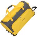 travelite Garda Pop XL Rollenreisetasche mit Trolley-Funktion 72 cm gelb