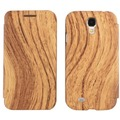 Twins BookFlip Wood für Samsung Galaxy S4