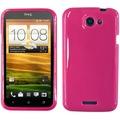 Twins Bright Grip für HTC One X, pink