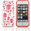 Twins Bubble Bath für iPhone 5/5S/SE, weiß-pink