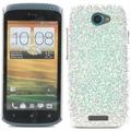 Twins Disco für HTC One S, silber