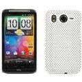 Twins Perforated für HTC Desire HD, weiß