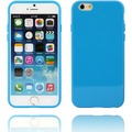 Twins Soft Case glossy für iPhone 6 blau