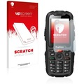 upscreen Scratch Shield Clear Premium Displayschutzfolie für RugGear RG310