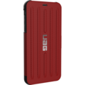 Urban Armor Gear Metropolis Folio Case, Apple iPhone XS Max, magma (rot)