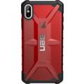 Urban Armor Gear Plasma Case, Apple iPhone XS Max, magma (rot transparent), Schutzhülle