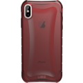 Urban Armor Gear Plyo Case, Apple iPhone XS Max, crimson (rot transparent)