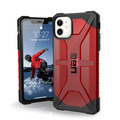 Urban Armor Gear UAG Urban Armor Gear Plasma Case, Apple iPhone 11, magma (rot transparent), 111713119393