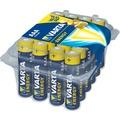 VARTA Batterie Alkaline - Micro - AAA - LR03 - 1.5V Energy - (24-Pack)