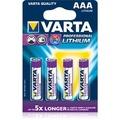 VARTA Professional Lithium Batterie Micro AAA 1100 mAh (4 Stück)