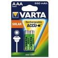 VARTA Solar Akku AAA LR03 Micro 2er 550mAh